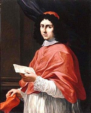 Ludovico Gimignani - Portrait of Cardinal Felice Rospigliosi