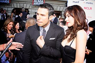 Rafael Amaya - Amaya and Angélica Celaya at the 2013 Alma Awards