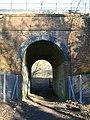 Railway Bridge over footpath, Chipstead Bottom - geograph.org.uk - 1099726.jpg