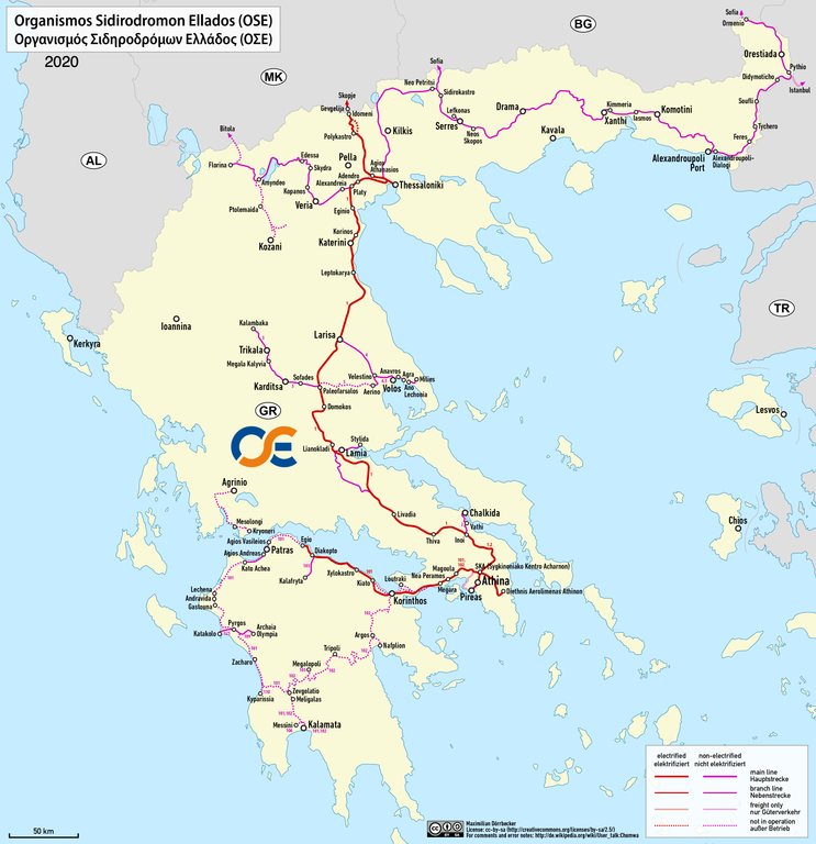 FileRailway map of Greecepng Wikimedia Commons