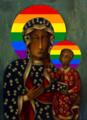 Rainbow Black Madonna of Częstochowa.png