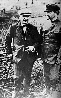Раковский и Троцкий, 1924 г.