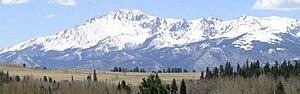 Woodland Park, Colorado - Image: Rampart range road