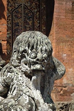 Rangda - Image: Rangda statue