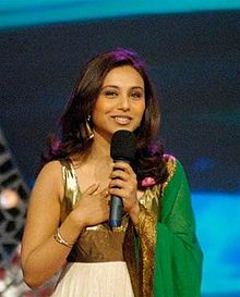 Rani at the launch of Titan Raga Crystals (2007)