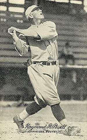 Ray Powell (baseball) - Image: Ray Powell 1921
