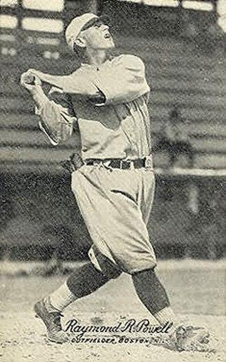 Ray Powell (baseball) - Image: Ray Powell 1921