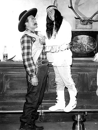 "Bobby Darin - ""Deadeye"" and Darin in a 1965 Red Skelton Show skit"