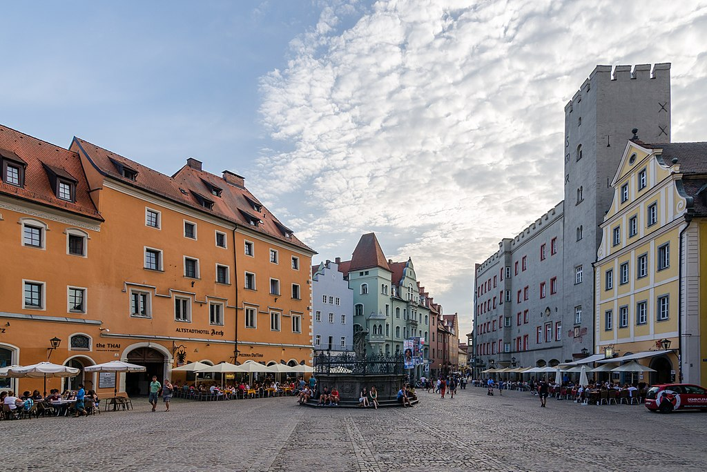 Regensburg, Haidplatz, 2017-06 CN-01
