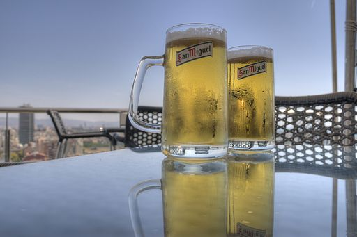 Relaxing beer