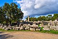 Remains of the Temple of Zeus in Olympia on October 14, 2020.jpg