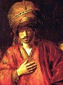 Rembrandt - Haman Recognizes his Fate - detail 01.jpg
