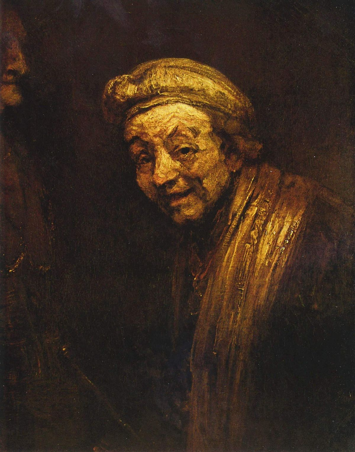 Rembrandt Portraits Self-Portrait as Zeuxi...
