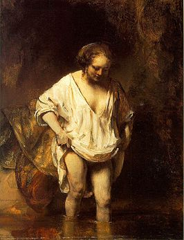 Rembrandt Hendrickje Bathing in a River.jpg