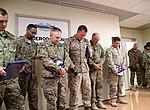 Remembering the fallen, Wounded combat veterans return to Afghanistan 141101-N-JY715-367.jpg