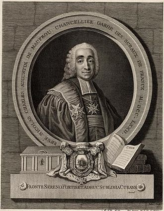 Bertrand de Molleville - Maupeou