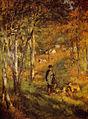 Renoir - Jules Le Coeur et ses chiens (1866).jpg
