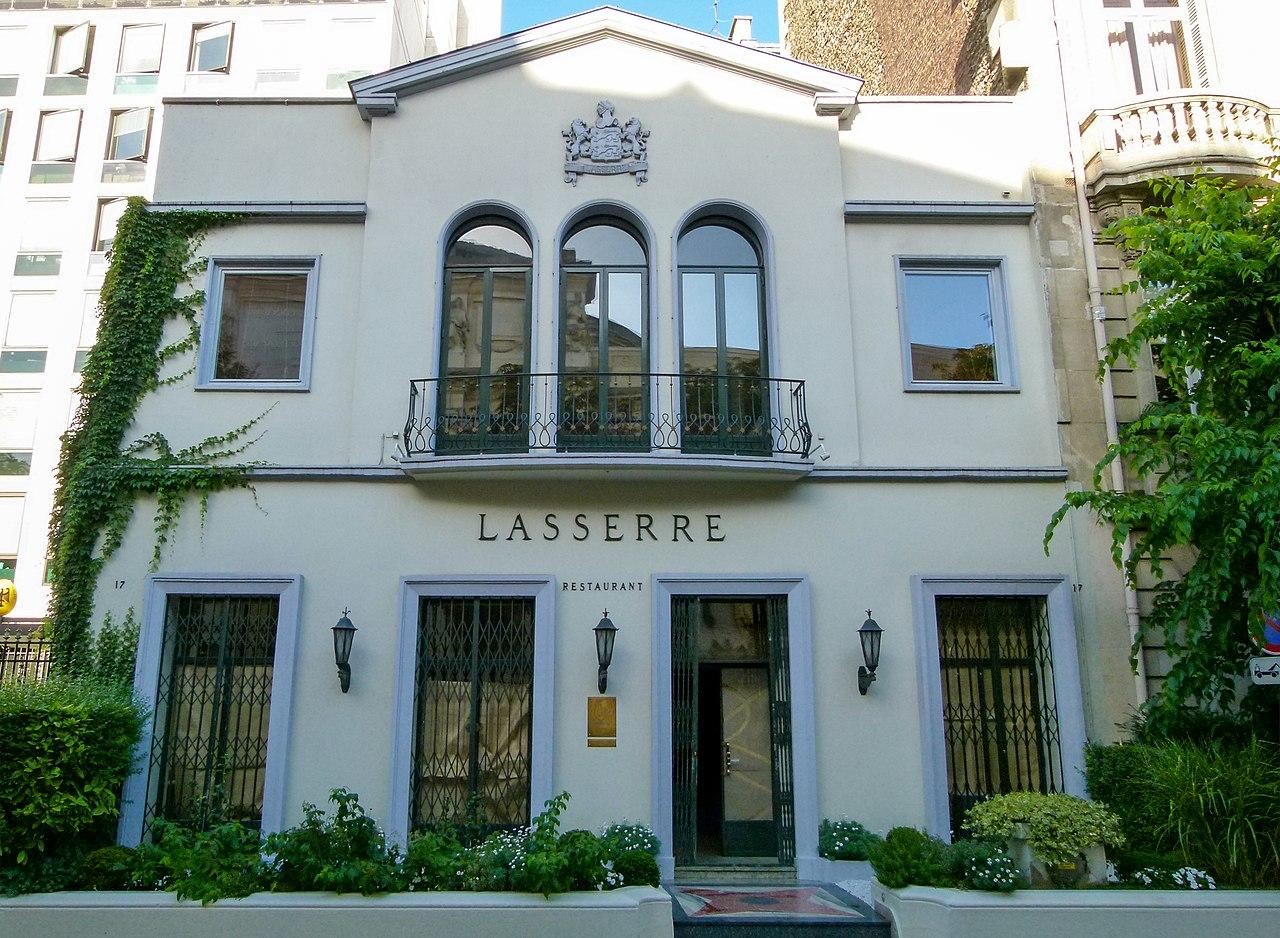 Lasserre - Paris : a Michelin Guide restaurant