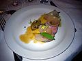 Restaurant Noma Svinenakke med ølsyltede løg og ramsløg (5622152139).jpg
