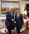 Reunión con el Primer Ministro de Quebec, Philippe Couillard. (21929362169).jpg