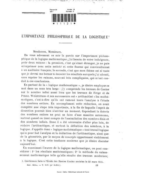 File:Revue de métaphysique et de morale, numéro 3, 1911.djvu