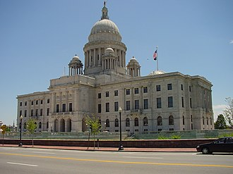 Rhode Island General Assembly - Image: Rhode Island State Capitol (north facade)