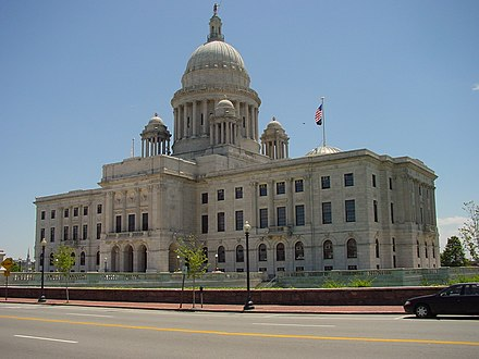Rhode Island State House Rhode Island State Capitol (north facade).jpg