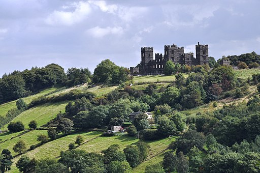 Riber Castle - from Heights of Abraham - Matlock (geograph 1685064)