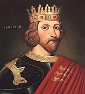 Richard - 17th-century portrait of Richard the Lionheart, a 12th-century King of England