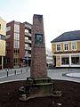 Richard With memorial stone in Tromsø (2014).jpg
