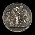 Richard Yeo, The Duke as Hercules, Overcoming Discord and Raising Britannia (reverse), 1746, NGA 108164.jpg