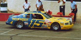 Bud Moore Engineering - Rudd in Moore's No. 15, from 1984
