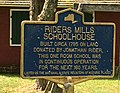 Riders Mill School (marker).jpg