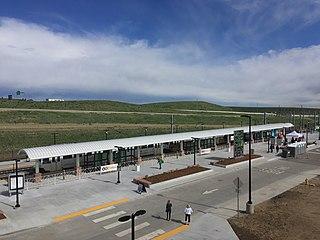 RidgeGate Parkway station