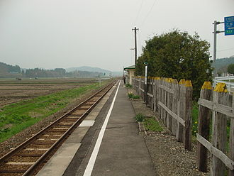 Rikuchū-Ōsato Station - Rikuchū-Ōsato Station in May 2007