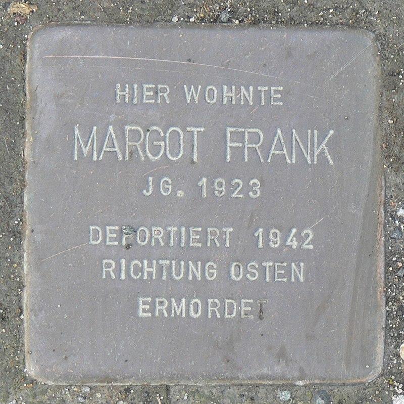 Rimpar Stolperstein Frank, Margot.jpg
