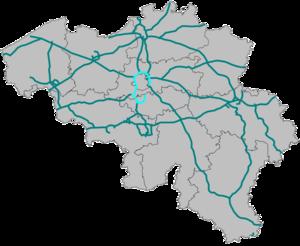 Brussels Ring - Image: Ringweg R0 Belgie
