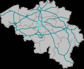 Brussels Ring ring road of Brussels, Belgium