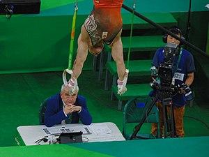 Yuri van Gelder - Van Gelder performing at the Olympics in the qualification