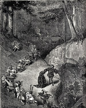 Riquet with the Tuft - 1867 illustration by Gustave Dore
