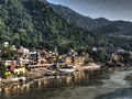Rishikesh view from Lakshman Jhula.jpg