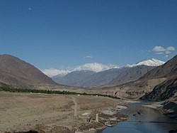The Indus River near Chilas