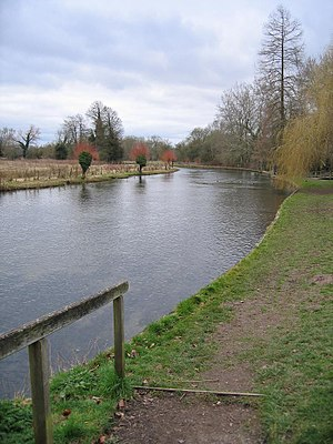 River Anton - The River Anton at Goodworth Clatford