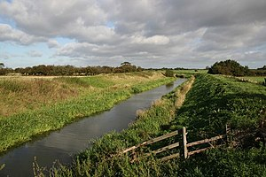 A1500 road - The River Till photographed from the Till Bridge on the A1500