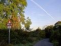 Road bend Linthwaite Lane to Elsecar - geograph.org.uk - 587631.jpg