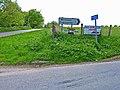 Roadside signs - geograph.org.uk - 178373.jpg