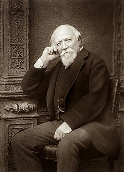 Robert Browning by Herbert Rose Barraud c1888