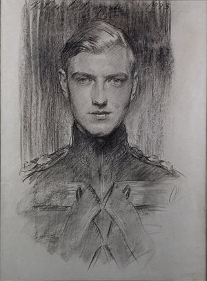 Robert Gould Shaw III - A Charcoal drawing of Robert Gould Shaw III by John Singer Sargent