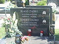 Robert and Blago Zadro grave.jpg
