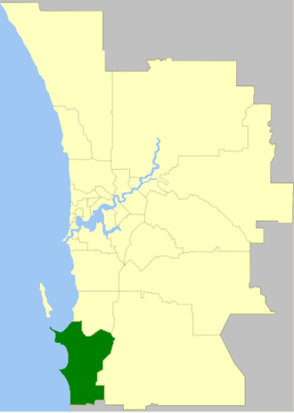 City of Rockingham - The City of Rockingham within the Perth Metropolitan Area